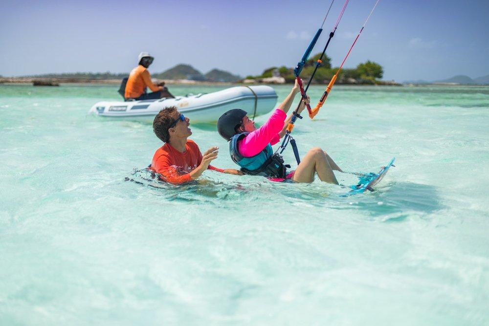 Lezioni kitesurf